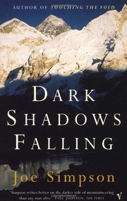 Cover of: Dark shadows falling