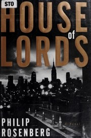 Cover of: House of Lords | Rosenberg, Philip