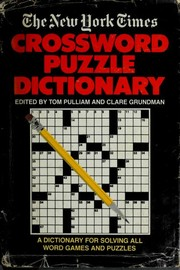 Cover of: New York Times Crossword Puzzle D | Tom Pulliam, Clare Grundman