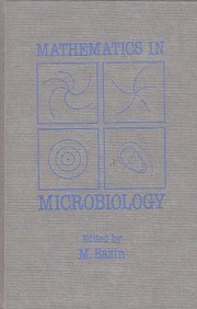 Cover of: Mathematics in microbiology |