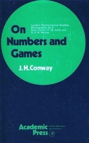 Cover of: On numbers and games | John Horton Conway