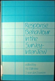 Cover of: Response behaviour in the survey-interview |