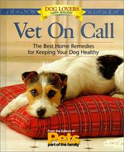 Cover of: Vet on call |