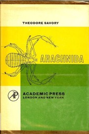 Cover of: Arachnida | Theodore Horace Savory