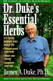 Cover of: Dr. Duke's Essential Herbs