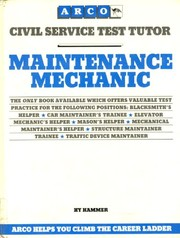 Cover of: Maintenance Mechanic (ARCO CIVIL SERVICE TEST TUTOR)