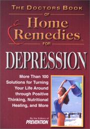 The Doctors Book of Home Remedies for Depression by