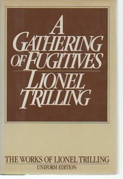 Cover of: A gathering of fugitives