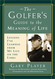 Cover of: The golfer's guide to the meaning of life