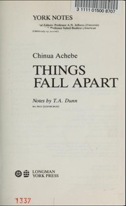 Cover of: Chinua Achebe |