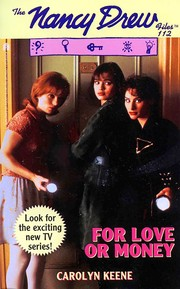 Cover of: For love or money | Carolyn Keene