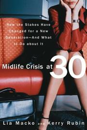 Cover of: Midlife Crisis at 30 | Lia Macko