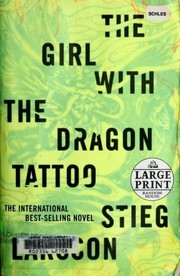 Cover of: The Girl with the Dragon Tattoo | Stieg Larsson