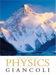 Cover of: Physics by Douglas C. Giancoli
