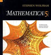 Cover of: The mathematica book