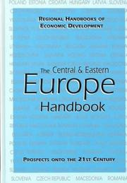 Cover of: Central and Eastern Europe Handbook (Regional Handbooks of Economic Development) | Patrick Heenan
