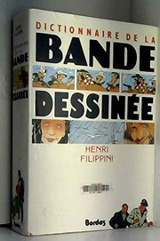 Cover of: Dictionnaire de la bande dessinée