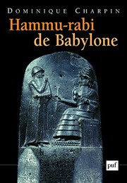 Cover of: Hammu-rabi de Babylone | Dominique Charpin