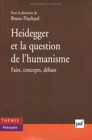 Cover of: Heidegger et la question de l'humanisme