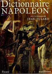 Cover of: Dictionnaire Napoléon (French Edition)