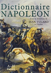 Cover of: Dictionnaire Napoléon