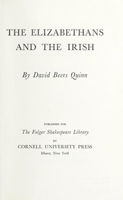 Cover of: The Elizabethans and the Irish
