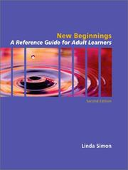 Cover of: New Beginnings | Linda Simon