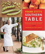 Cover of: Frank Stitt's Southern Table: Recipes and Gracious Traditions from Highlands Bar and Grill
