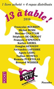 Cover of: 13 a table ! 2017 / Les Restos du Coeur (French Edition)