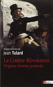 Cover of: Contre Revolution