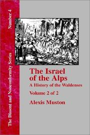 Cover of: Israel of the Alps | Muston, Alexis.