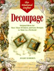 Cover of: Decoupage