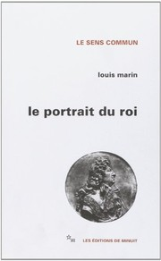 Cover of: Le portrait du roi
