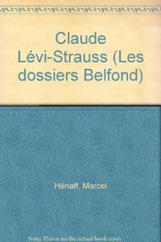 Cover of: Claude Lévi-Strauss