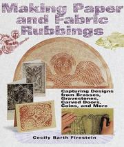 Cover of: Making Paper & Fabric Rubbings