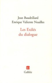 Cover of: Les exilés du dialogue