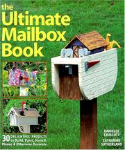 Cover of: The Ultimate Mailbox Book | Danielle Truscott, Catharine Sutherland
