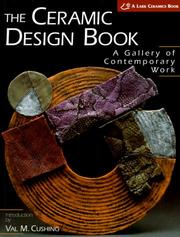 Cover of: The Ceramic Design Book | Val Cushing