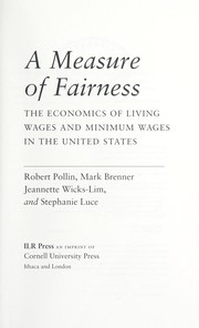 Cover of: A measure of fairness