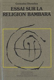 Cover of: Essai sur la religion bambara