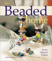 Cover of: The Beaded Home | Katherine Duncan Aimone