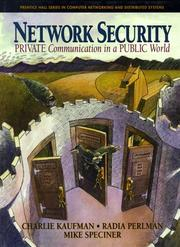 Cover of: Network security | Charlie Kaufman, Charlie Kaufman