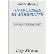 Cover of: Anarchisme et modernité