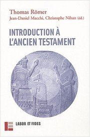 Cover of: Introduction À L'ancien Testament