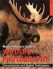 Cover of: Moose Peterson's Guide to Wildlife Photography