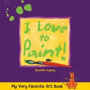 Cover of: My very favorite art book | Jennifer Lipsey
