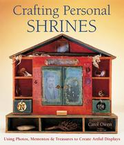 Cover of: Crafting Personal Shrines | Carol Owen