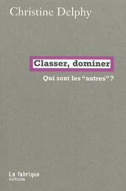 Cover of: Classer, dominer