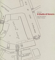 Cover of: Il Ghetto di Venezia