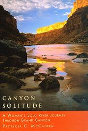 Cover of: Canyon solitude